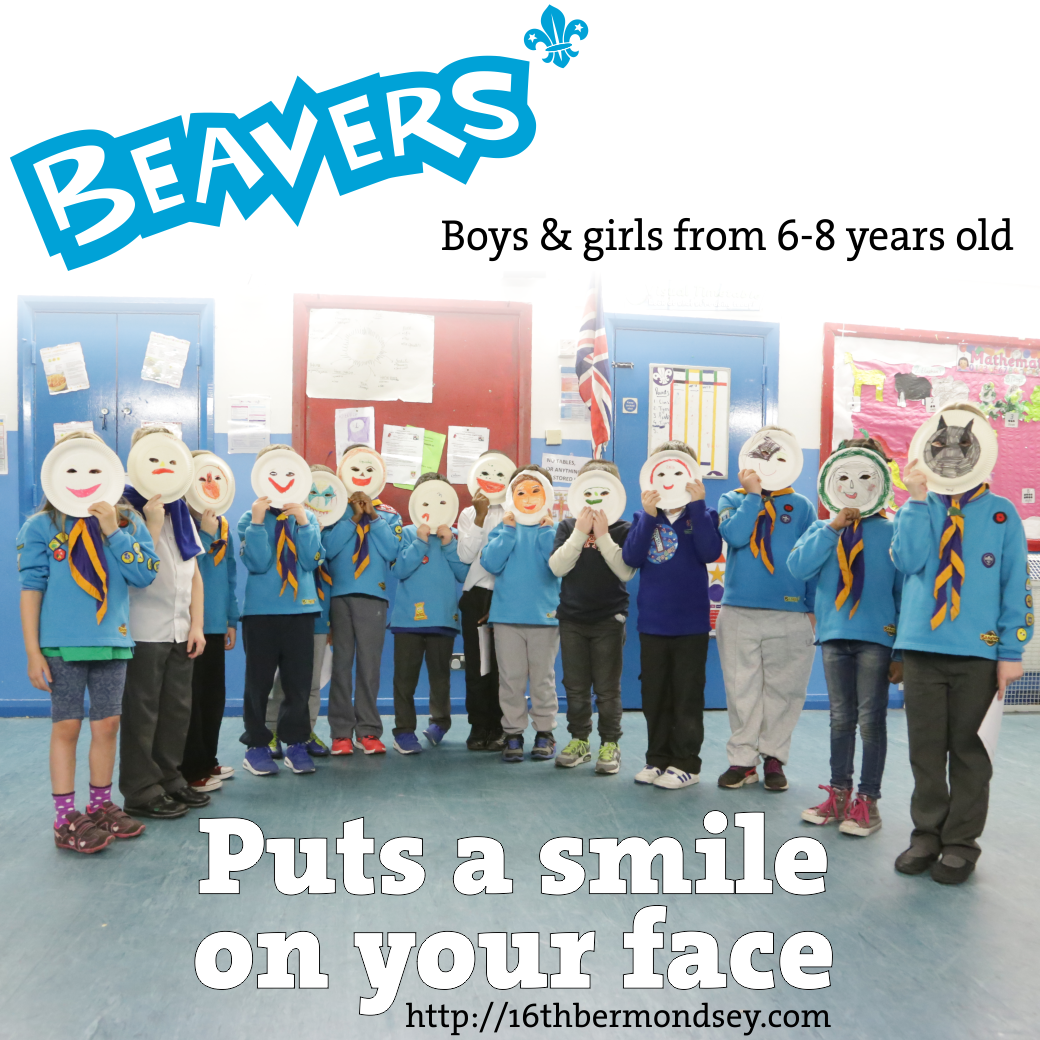 Beavers - Puts a smile on your face