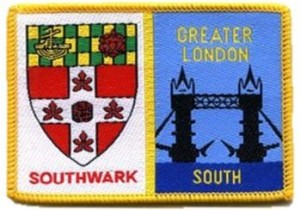 Southwark Greater London South Scout Badge