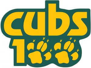 Cubs 100 logo
