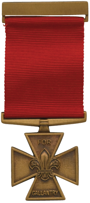 Scout Gallantry Medal; Bronze Cross