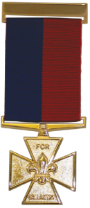 Scout Gallantry Medal; Gilt Cross