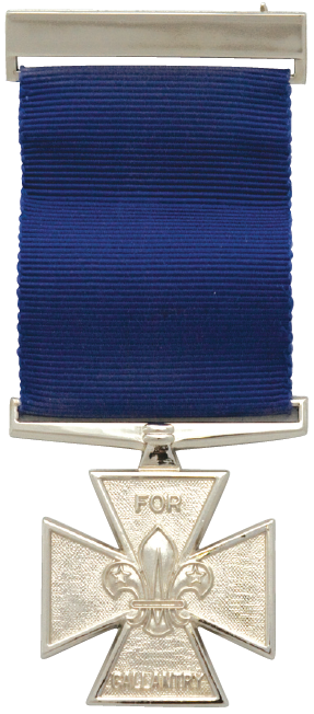 Scout Gallantry Medal; Silver Cross
